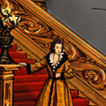 Artistic concept of Gone with the Wind's Tara
