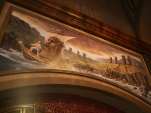 Tower of Terror lobby mural