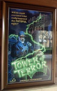 tokyo disney sea tower of terror poster