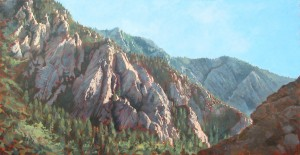 Storm Mountain painting