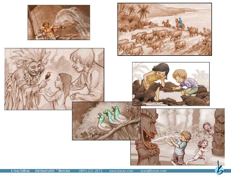 Photography Storyboard Sample. Photographers Storyboard 8