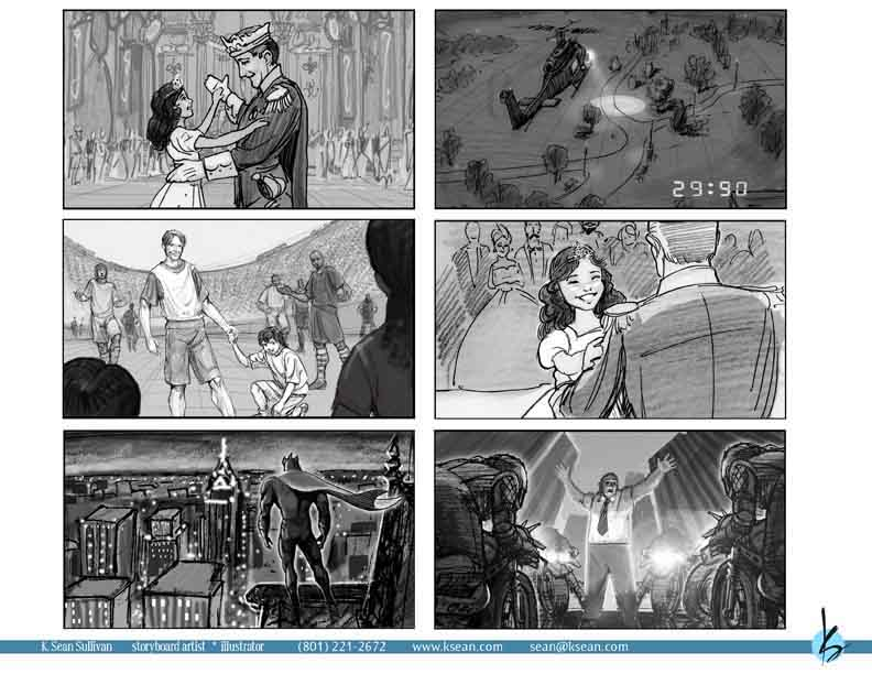 K Sean Sullivan Art Blog  Storyboards