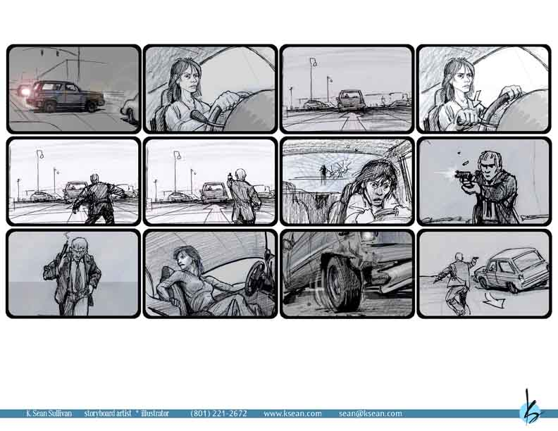 I Have Drawn Storyboards For Film ...