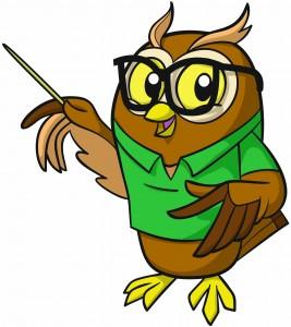 The wise old owl teacher