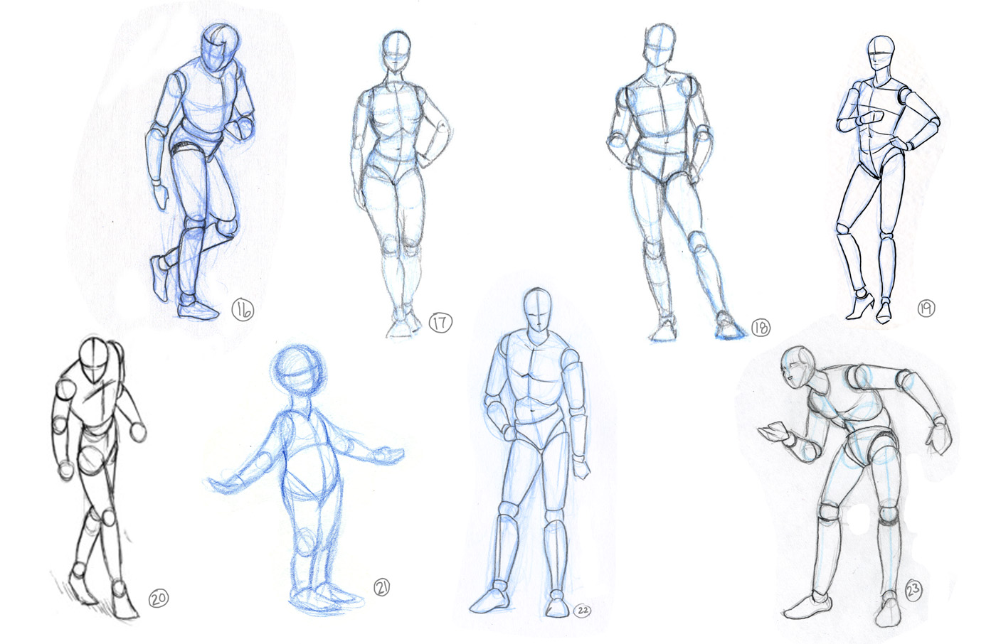 This is a photo of Clean Figure Drawing Basics