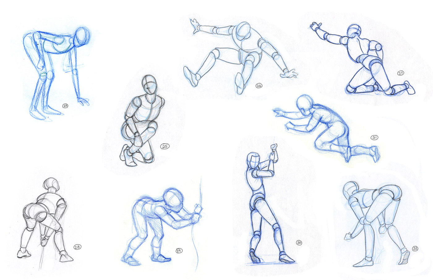 This is a photo of Agile Figure Drawing Basics